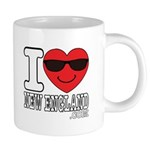 I LOVE NEW ENGLAND Mugs