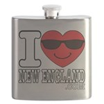 I LOVE NEW ENGLAND Flask