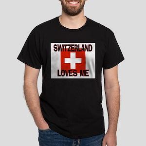 Switzerland Loves Me Dark T-Shirt