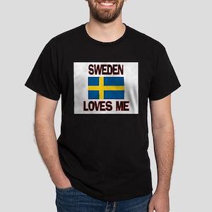 Sweden Loves Me Dark T-Shirt