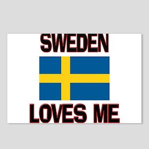 Sweden Loves Me Postcards (Package of 8)