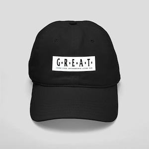 G.R.E.A.T. Black Cap