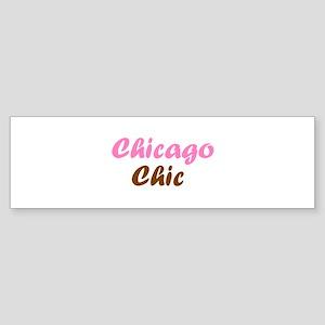 Chicago Chic Bumper Sticker