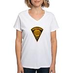 Bridgeport Police Women's V-Neck T-Shirt