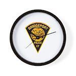 Bridgeport Police Wall Clock