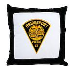 Bridgeport Police Throw Pillow