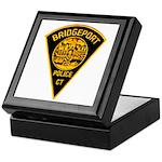 Bridgeport Police Keepsake Box