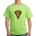 Bridgeport Police Green T-Shirt
