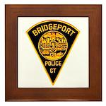 Bridgeport Police Framed Tile