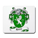 Home Family Crest Mousepad