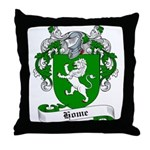 Home Family Crest Throw Pillow