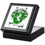 Home Family Crest Keepsake Box