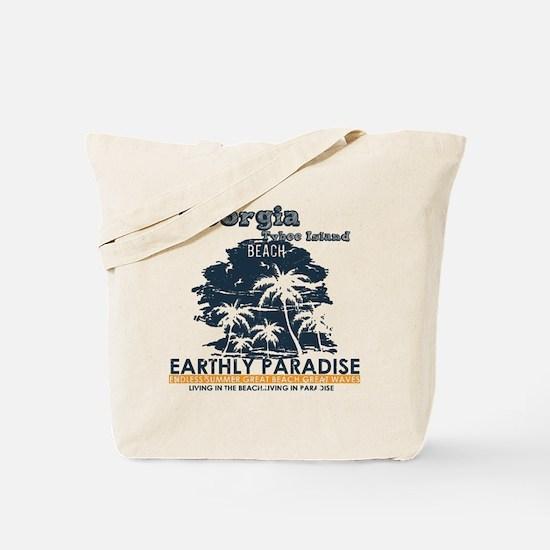 Funny Tybee island Tote Bag
