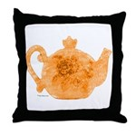 Tea is Hot! Throw Pillow
