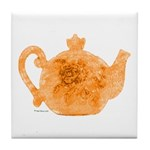 Tea is Hot! Tile Coaster