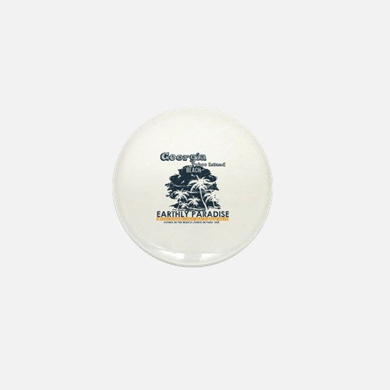 Funny Tybee island Mini Button