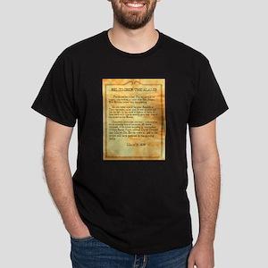 Alamo Has Fallen Dark T-Shirt