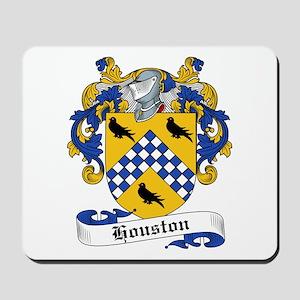 Houston Family Crest Mousepad