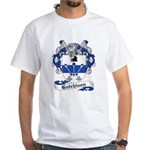 Hutchison Family Crest White T-Shirt