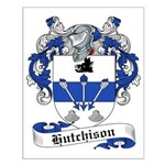 Hutchison Family Crest Small Poster