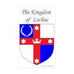Kingdom of Lochac Rectangle Sticker 50 pk)