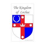 Kingdom of Lochac Rectangle Sticker