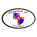 Kingdom of Lochac Oval Sticker