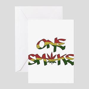 Lion of judah greeting cards cafepress one smoke greeting card m4hsunfo