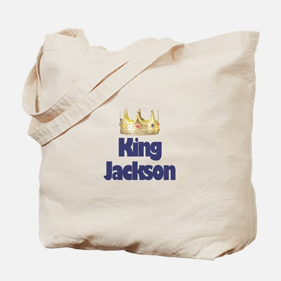 King Jackson Tote Bag