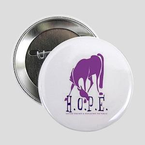 "HOPE Horse Rescue 2.25"" Button"