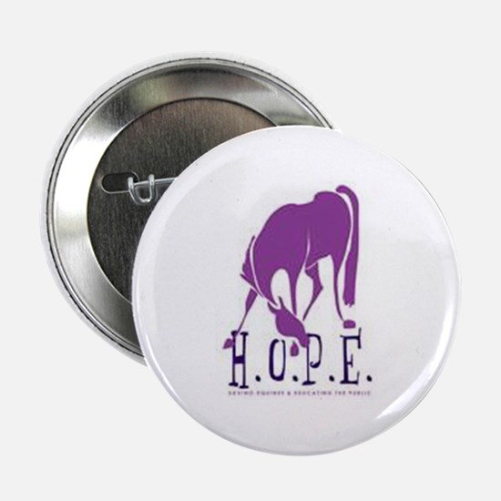 "HOPE Horse Rescue 2.25"" Button"