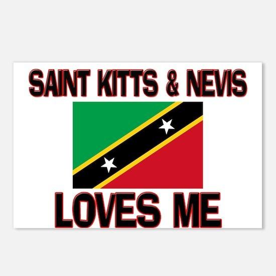 Saint Kitts & Nevis Loves Me Postcards (Package of