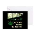 Marijuana Party Greeting Cards (Pk of 20)