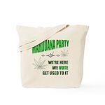Marijuana Party Tote Bag