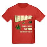 Marijuana Party Kids Dark T-Shirt