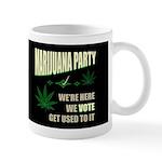 Marijuana Party Dark Mug