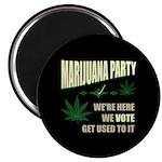 Marijuana Party Magnet