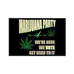 Marijuana Party Rectangle Magnet (10 pack)