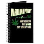 Marijuana Party Journal