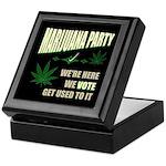 Marijuana Party Keepsake Box