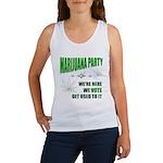 Marijuana Party Women's Tank Top