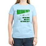 Marijuana Party Women's Light T-Shirt