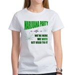Marijuana Party Women's T-Shirt