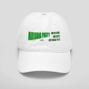 Marijuana Party Cap