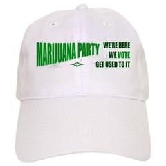 Marijuana Party Baseball Cap