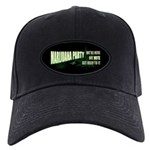 Marijuana Party Black Cap