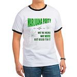 Marijuana Party Ringer T