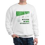Marijuana Party Sweatshirt