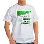 Marijuana Party Light T-Shirt