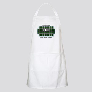 Sometimes Wine is the Answer BBQ Apron